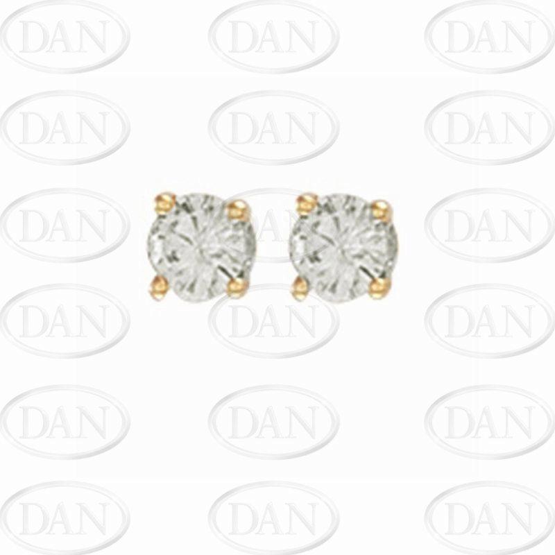 0.50Ct Diamond Studs (18ct Yellow)