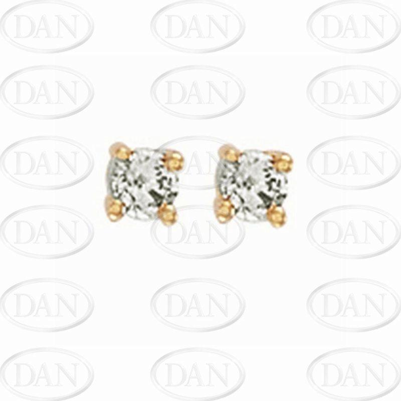 0.25Ct Diamond Studs (18ct Yellow)