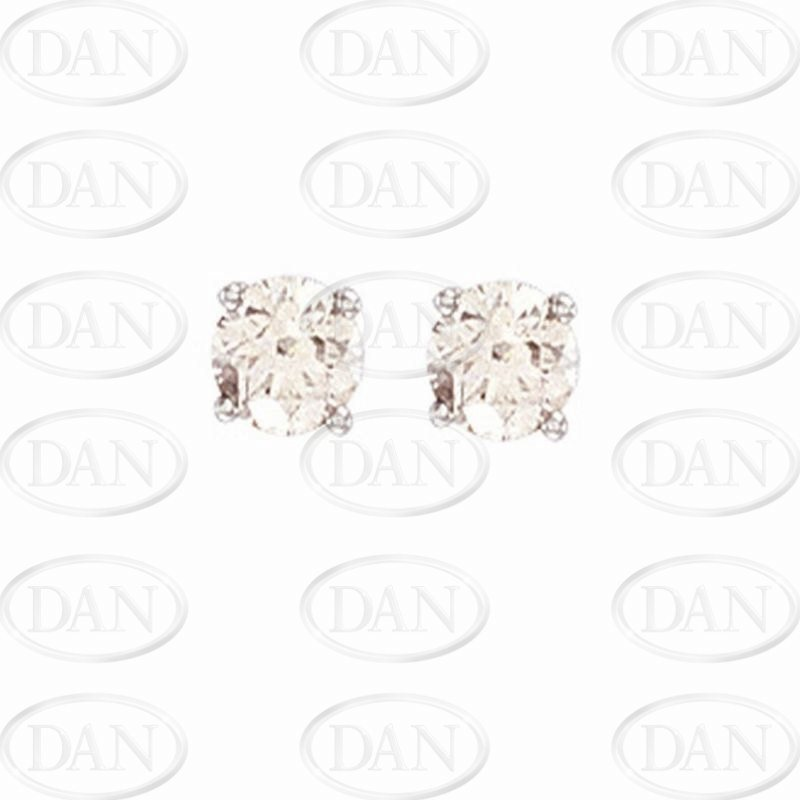1Ct Diamond Studs (18ct White)