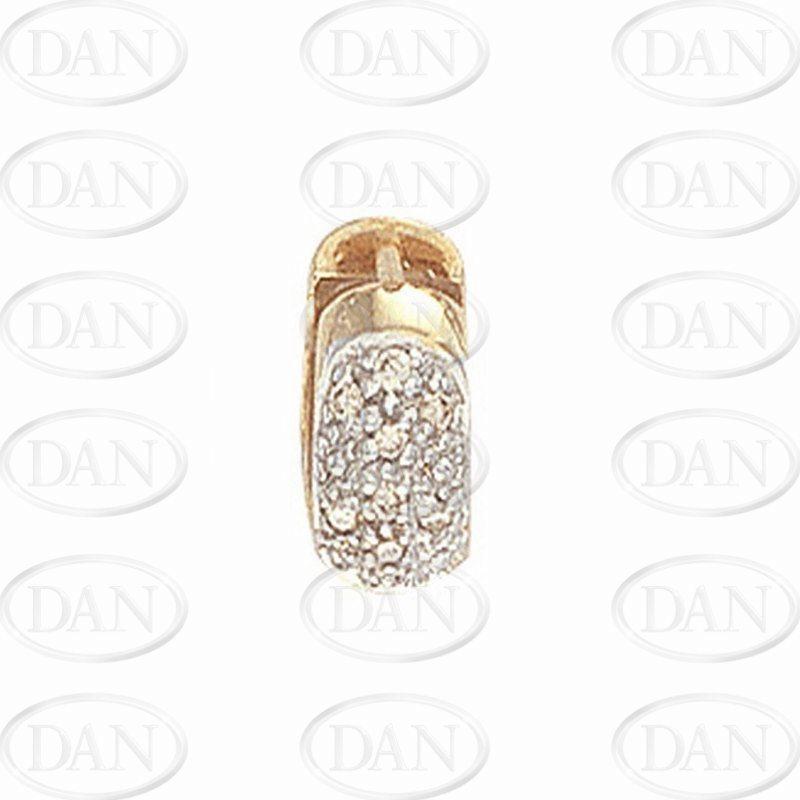 Diamond Earrings - Single - Yellow