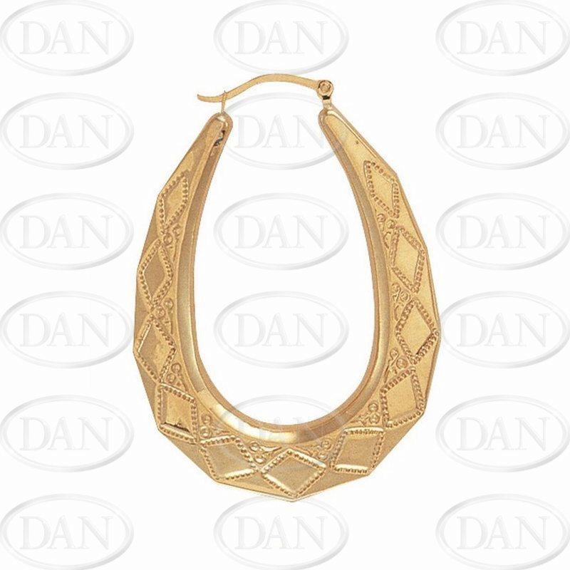 Oval Fancy Earrings