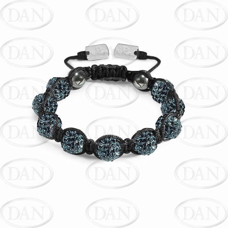 10mm Kamara Navy Crystal Bracelet