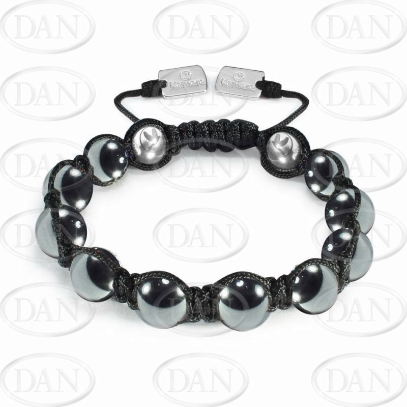 10mm Gents Kamara Hematite BT
