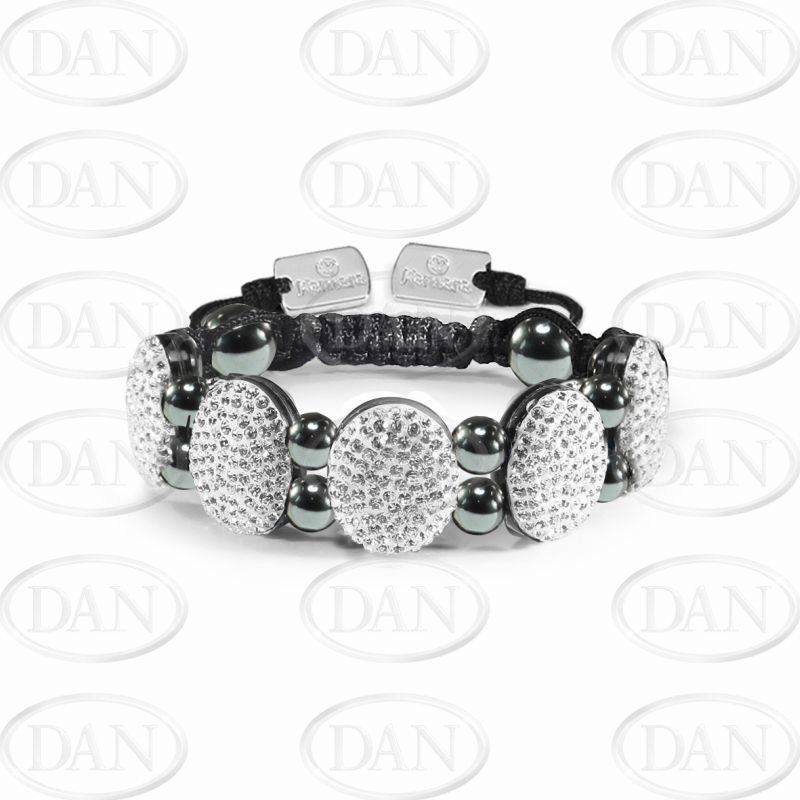 Crystal Oval Bracelet
