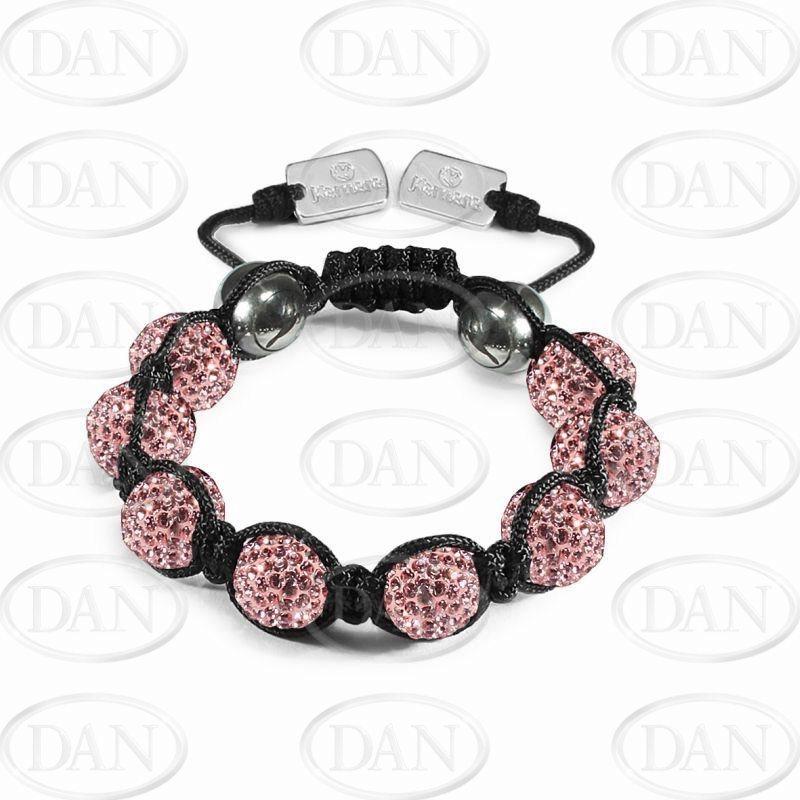 12mm Kamara Pink Crystal Bracelet