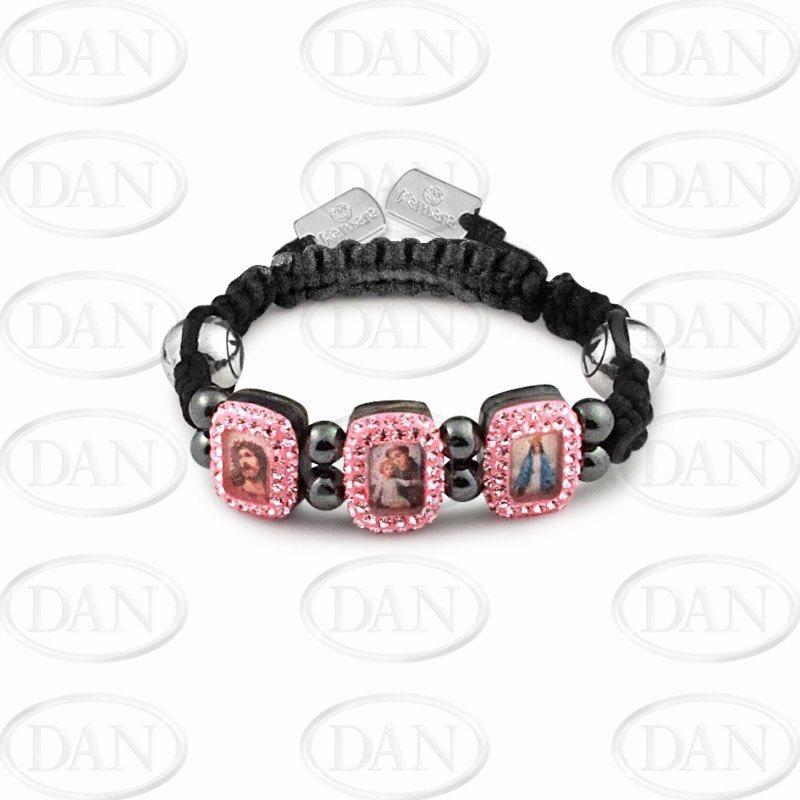 Kamara Pink Baby Saints Bracelet