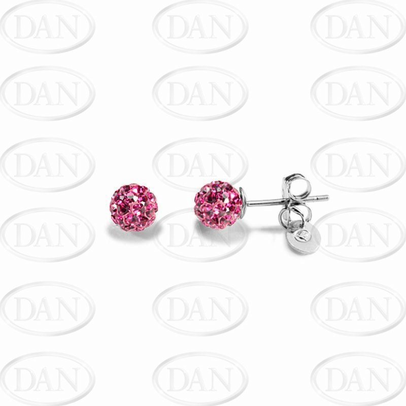 Kamara 6mm Fuschia Studs