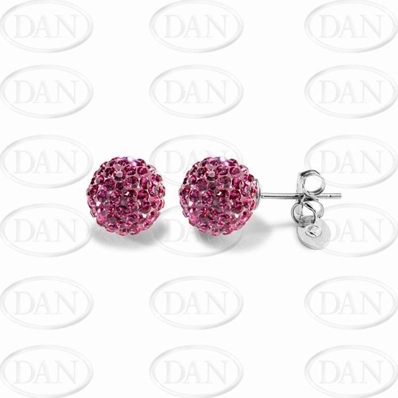 Kamara 10mm Fuschia Studs