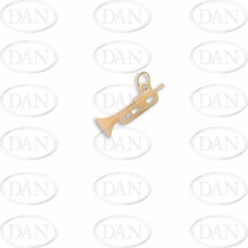 Trumpet Charm Pendant