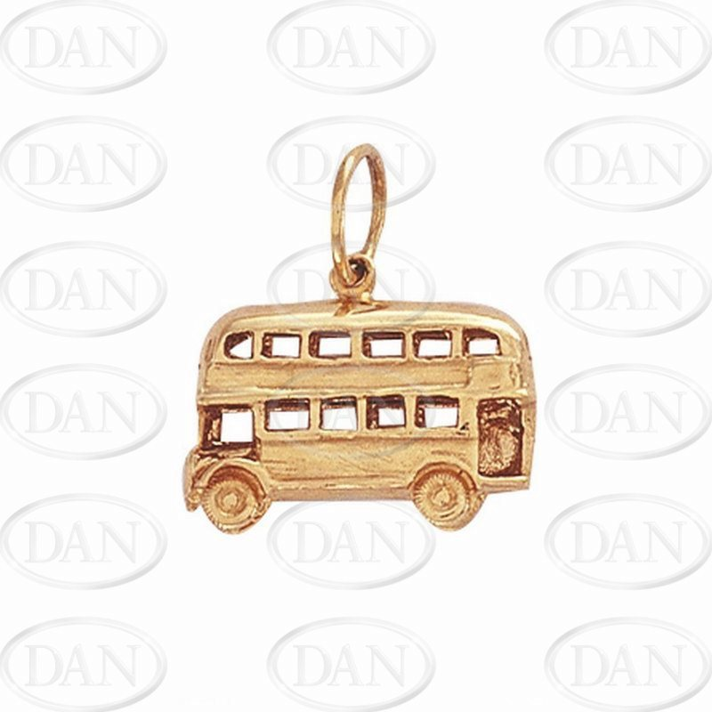 Double Decker Bus Pendant