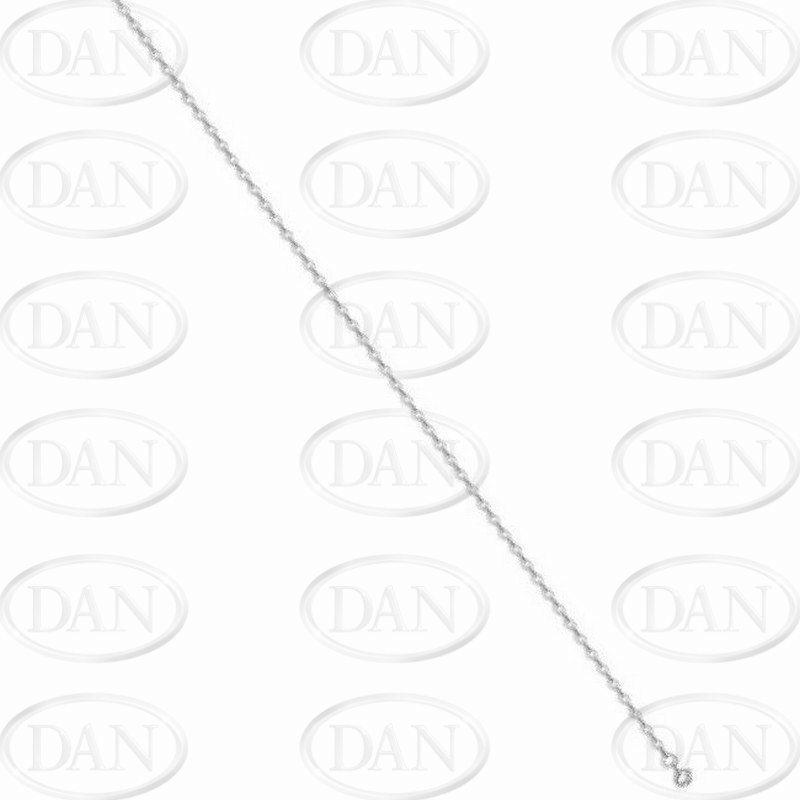 Silver Oval Belcher Chain