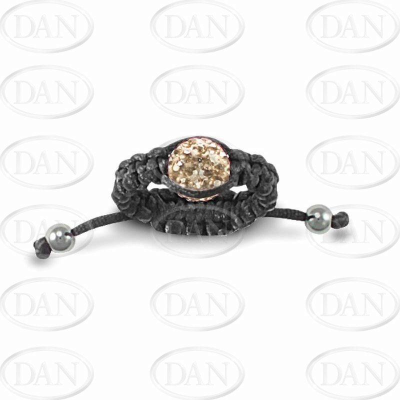 Champ Crystal Adjustable Ring