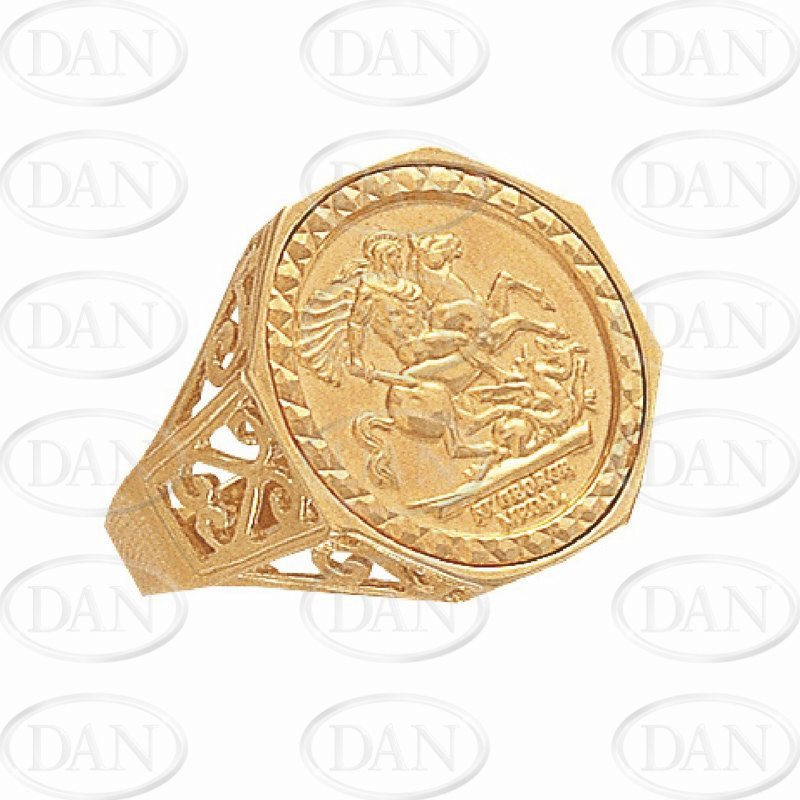 Sovereign St George Sovereign Ring